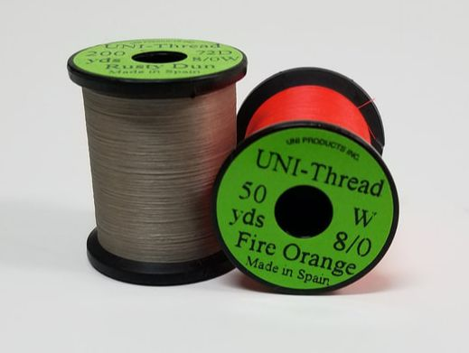 Fly tying Lot 8 SPOOLS DANVILLE 4 Strand Floss Fl Color Combo